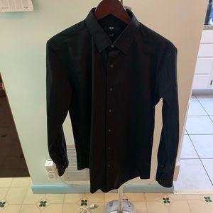 Uniqlo Black Dress Shirt